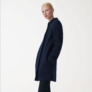COS navy wool coat